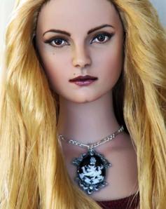 OOAK Rosalie Doll Art by OSS