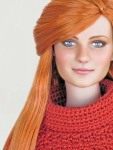 Repainted Tonner Mary Jane from Spider Man