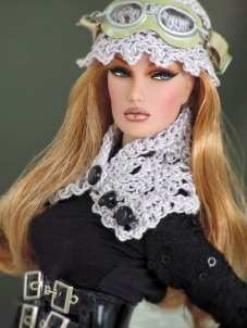 Dasha for OSS models Steampunk Lace Set