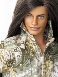 ROCK-A-BYE - Rerooted and Repainted Fashionista Ken