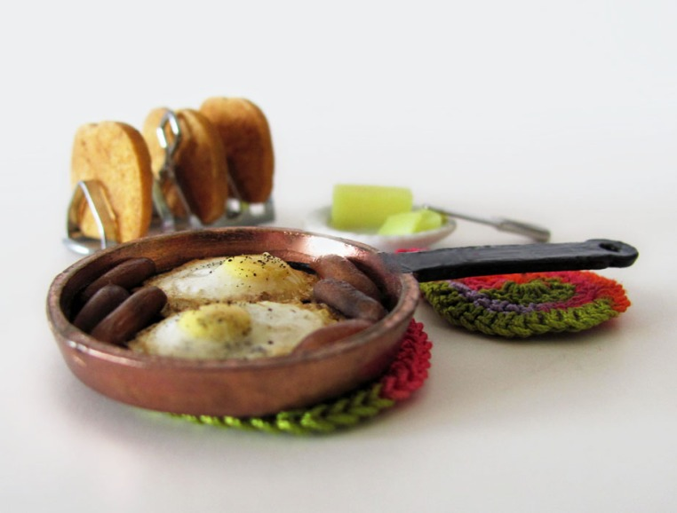 Skillet Breakfast with Fried Eggs by OSS