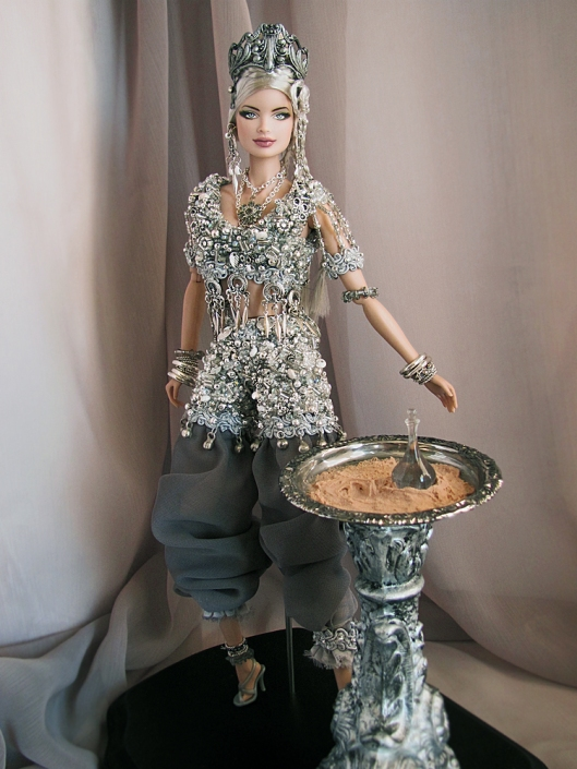 "OOAK ""Sterling"" GAW Charity Doll by OSS"