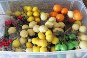 Vintage Millinery Fruit