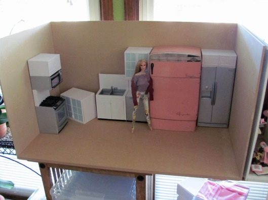 1:6 Scale OSS Kitchen Before Paint
