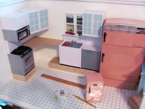 OSS 1:6 Scale Kitchen in Progress